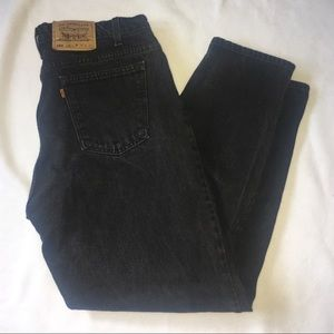 Levis 560 Mens 38 x 32 Loose Fit Tapered Leg Jeans